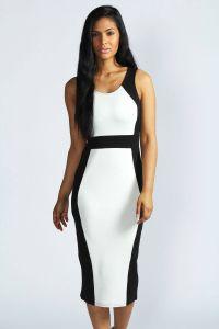 beautiful black and white dress | My Style | Pinterest