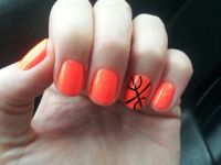 basketball nails | Nails :] | Pinterest