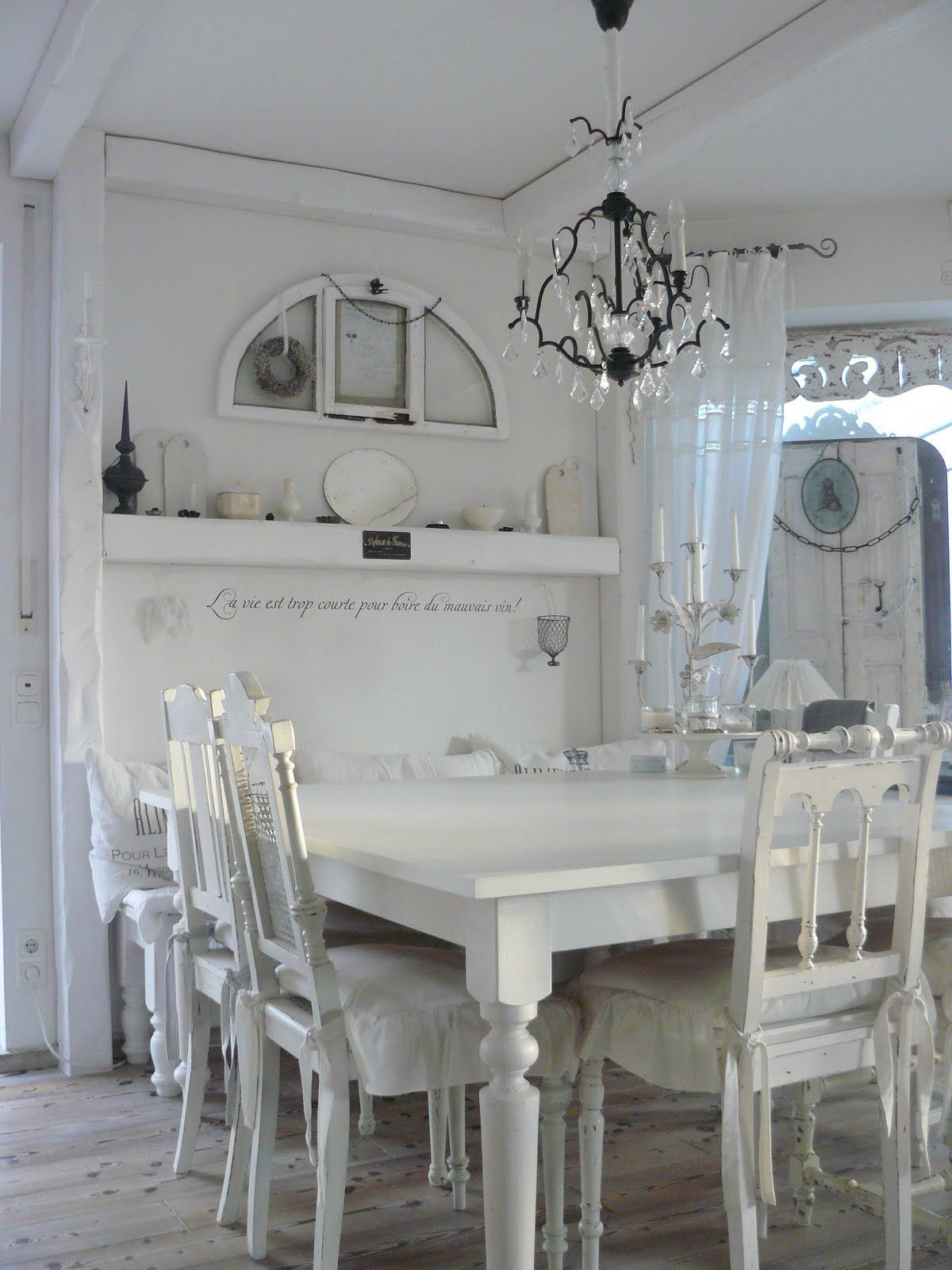 Esszimmer Stühle Shabby Chic Shabby Chic Dining Room Give Me Shabby Pinterest