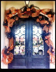 Decorating Your Front Door for Halloween | Doors by Design