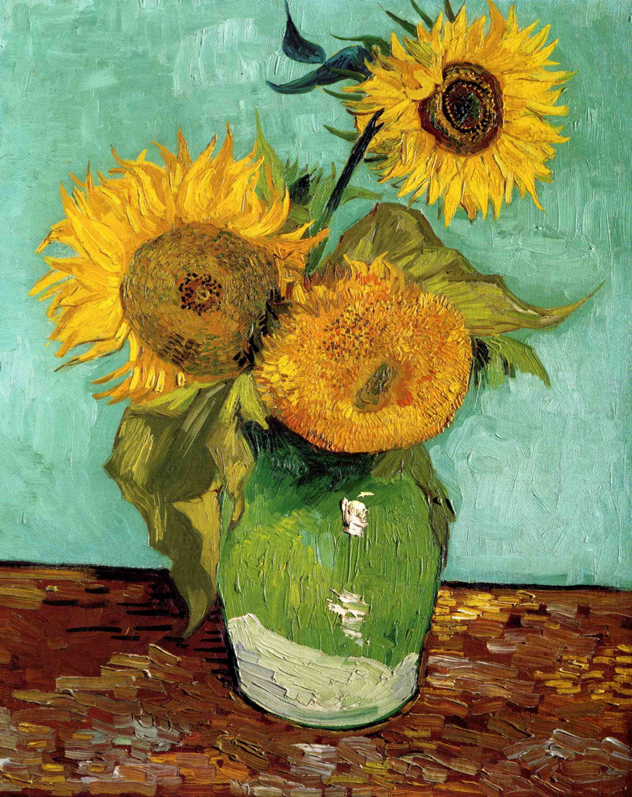 Vincent Van Gogh Paintings Sunflowers Pin By Synopsis On Vincent Van Gogh Paintings Pinterest