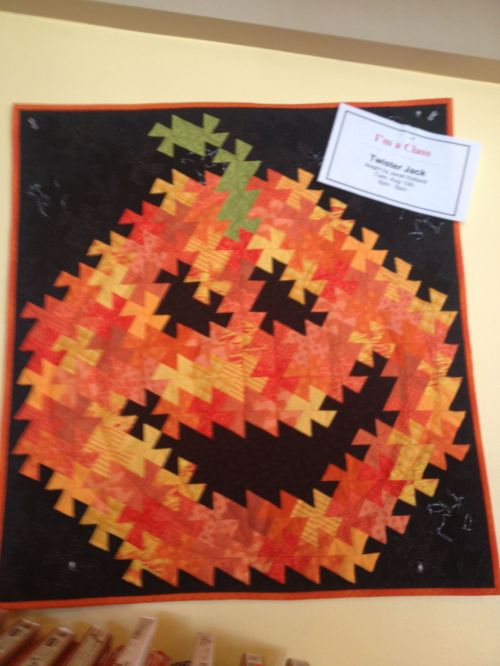 Share Halloween Pumpkin Quilt