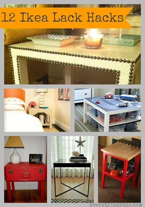 Ikea lack table hacks 12 inspiring diy projects diy - Diy ikea lack table ...