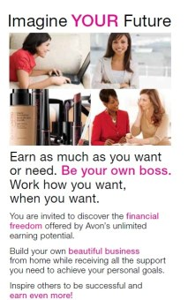 How much do you make Selling Avon Online?