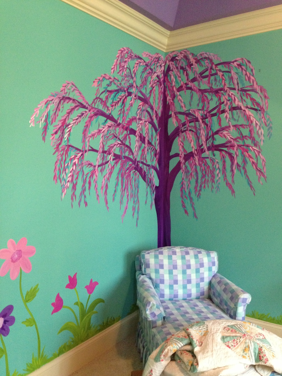 Bedroom Wall Art Trees This Tree Wall Sticker Was Put Up In A 9 Year Old Girl 39s