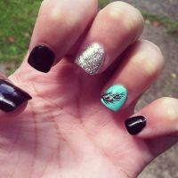 Nail Designs With Feathers | 25 best ideas about feather ...