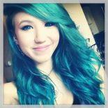 Kalel Cullen Green Hair