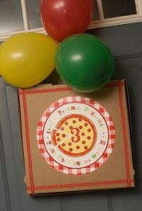 Pizza Party Ideas on Pinterest | Pizza Party, Pizza Cake ...