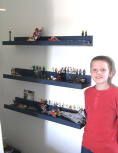 Lego display shelves   Do It Yourself Home Projects