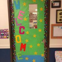Classroom Door/bulletin Board Ideas on Pinterest