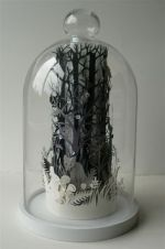 GLASS DOMES On Pinterest Glass Domes Bell Jars And Paper Sculptures
