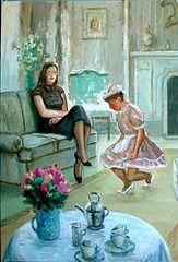 boy dress mother petticoat