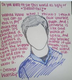 Watsky Wallpaper Quotes Quotes On Pinterest Bo Burnham Sloppy Seconds And The