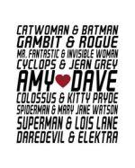 Superhero Wedding Anniversary
