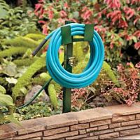Decorative Garden Hose Holder with Outdoor Faucet ...