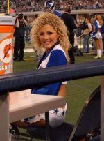 Dallas Cowboys Cheerleaders Courtney Cook