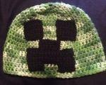 Minecraft Crochet Hat Pattern