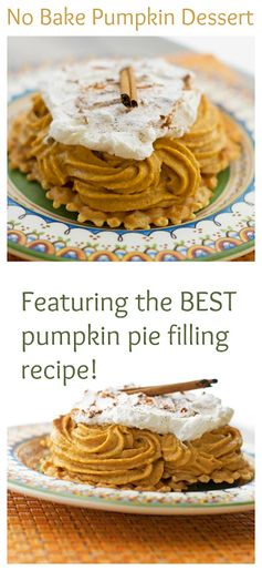 No Bake Pumpkin Dessert  | Major Hoff Takes A Wife- Featured at #HomeMattersParty 54