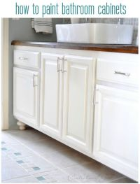 what paint to use on bathroom cabinets - 28 images - how ...