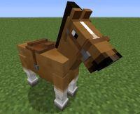 Minecraft horse | Minecraft animals | Pinterest