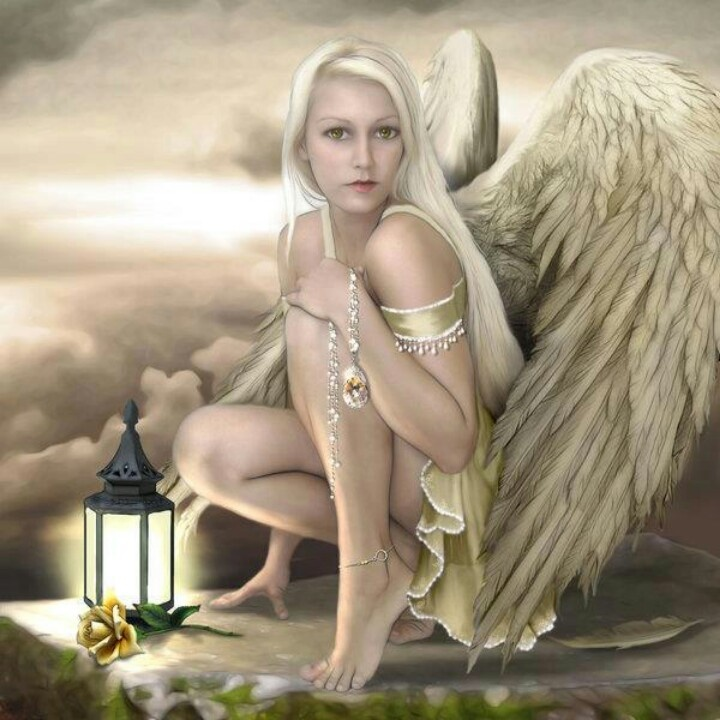 Cute Cartoon Angel Wallpaper Artist Tammara Angels Human Pinterest
