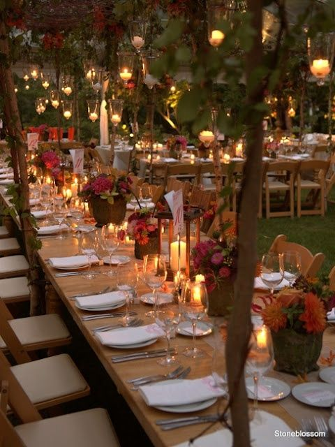 Awesome Outdoor Fall Wedding Decor Ideas A Tables And