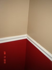 Red Chair Rail Paint Schemes Pictures to Pin on Pinterest ...
