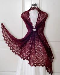 Victorian lace shawl | knitting ideas | Pinterest