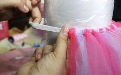 ... um ano: roupa de princesa com saia de tule rosa e lilás - Filhos - iG