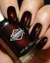 Dark Red Nails' | Nails | Pinterest