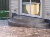 steps from high patio door | Garden | Pinterest