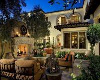 tuscan backyard | Home decor | Pinterest