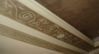 Stencil and Faux - Ceiling Tray 2 | Dream Home | Pinterest