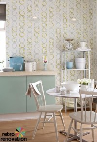 Retro wallpaper from original 1960s and 1970s designs ...