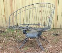 Modern Lawn Chair Outdoor Paitio Furniture Homecrest Wire ...