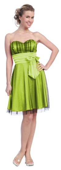 short lime green prom dresses | Hawaii Marriage | Pinterest