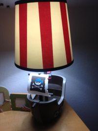 Pirate lamp | Shutterstock -- Pirate | Pinterest
