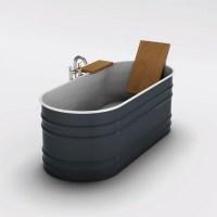 updated horse trough bathtub | Bathroom inspirations ...