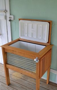 patio cooler stand | Ideas for my Home SWEET Home | Pinterest
