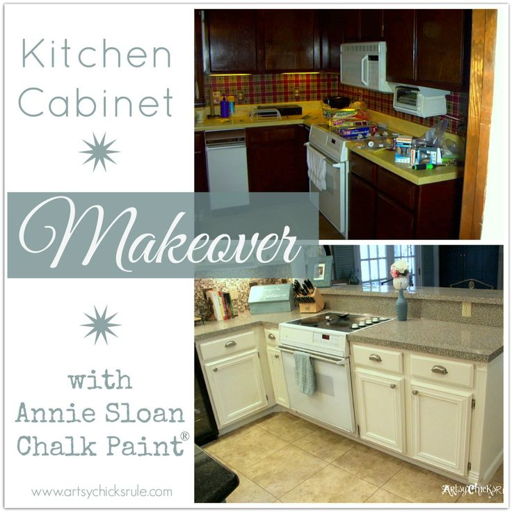 Annie Sloan Kitchen Cabinet Paint Kitchen Cabinet Makeover {annie Sloan Chalk Paint