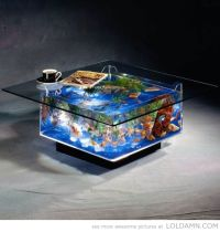 Cool Coffee Table Aquarium | Cool stuffs | Pinterest
