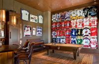 Sports-Themed Bedrooms To Man Caves! | Marty | Pinterest