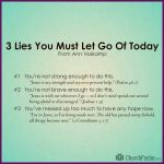 Bible Verses About Letting Go