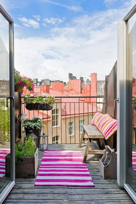 Terrazzo in stile bohemien guida giardino for Decorazione giardini stile 700