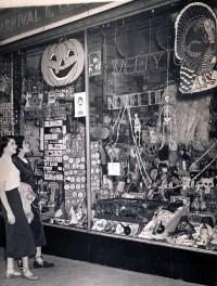 Vintage store display. | Halloween | Pinterest