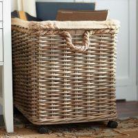Portable Storage Basket on Wheels