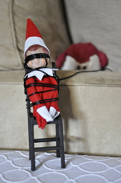 Elf On The Shelf Hiding Ideas Elves Pinterest