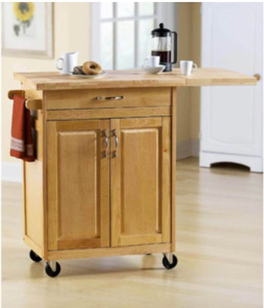 Wheeled Kitchen Islands Rolling Kitchen Island Cart Counter Storage Organization