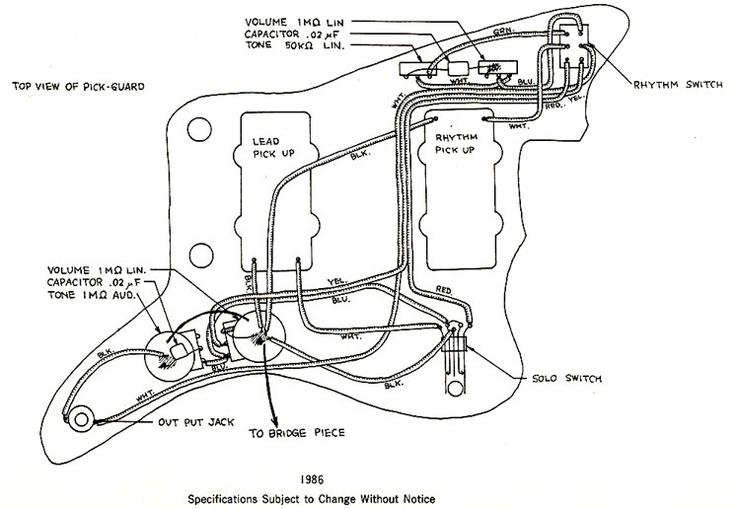 jazzmaster guitar pre wired wiring harness