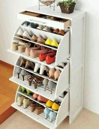 Shoe Storage | Ideas for Small spaces | Pinterest